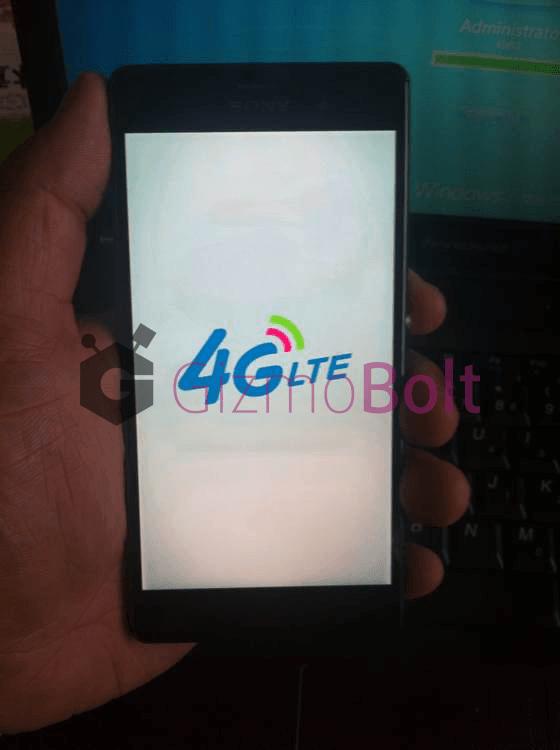 Xperia Z3 4G LTE running