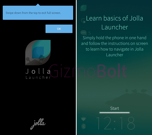 Sailfish Jolla Launcher apk