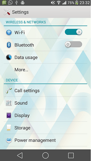 Xperia Android L6 Theme