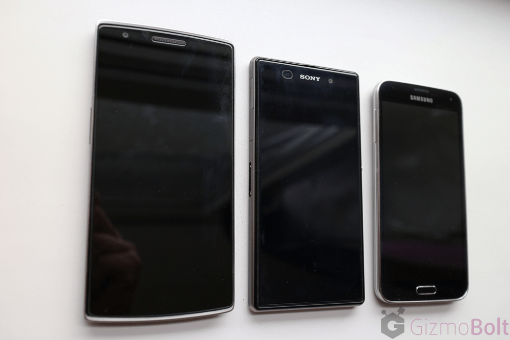 Galaxy S5 vs OnePlus One vs Xperia Z1 Comparison