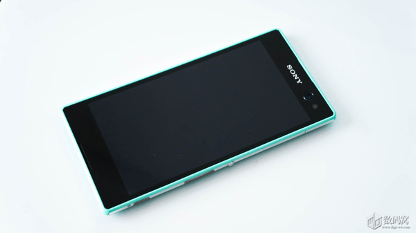 Xperia C3 Mint color hands on review
