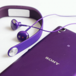 Hands on Purple Sony STH30 Stereo Headset unboxing – IP57 certified