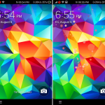 Download Galaxy S5 Lockscreen for all Xperia devices
