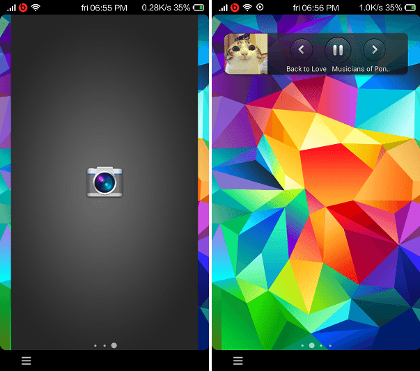 Download Galaxy S5 Lockscreen for Xperia