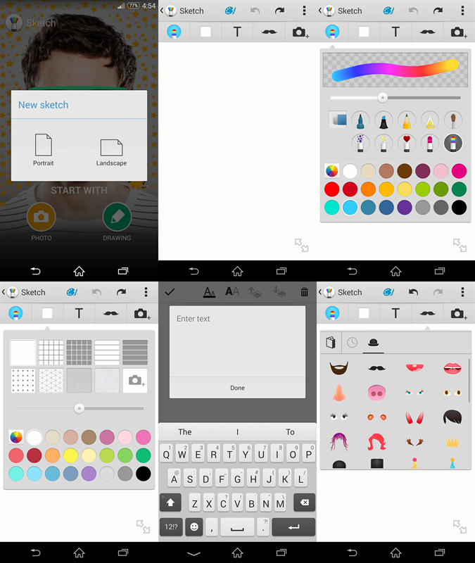 Image result for sony Sketch app