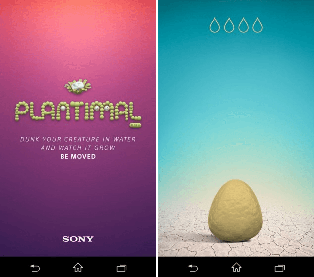 Download Sony Underwater app Plantimal apk
