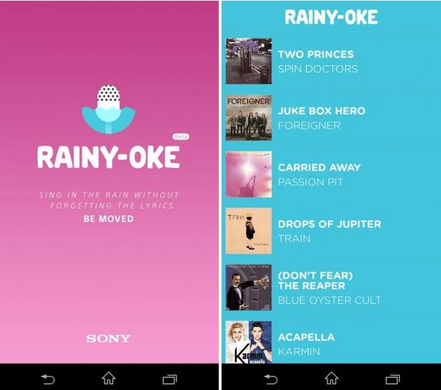 Download Sony Underwater app Rainy-oke apk