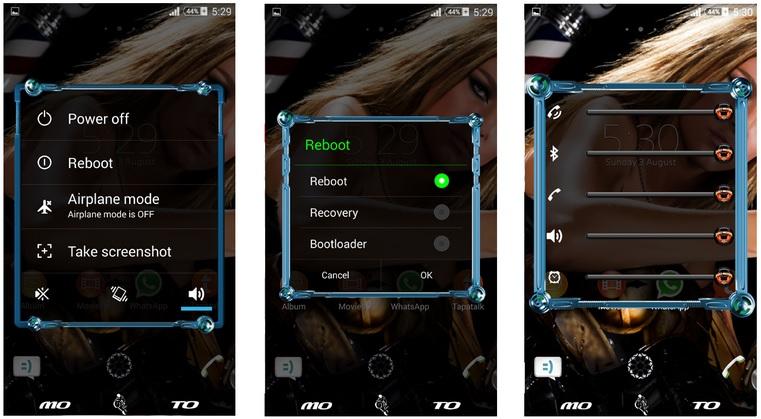 Download Xperia Moto Love theme