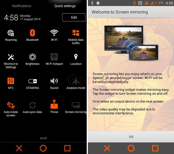 Download Xperia Theme Orangecrush