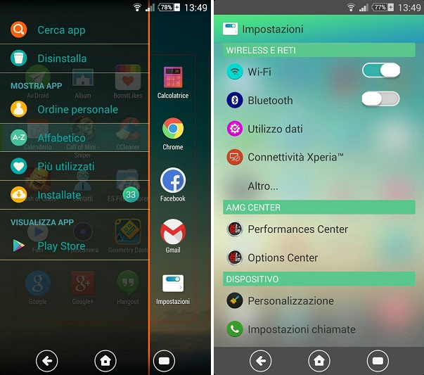 Install Xperia Pureness v1 Theme
