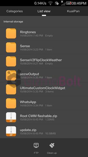 Steps to root Xiaomi Mi3