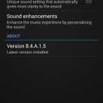 Install Sony Walkman 8.4.A.1.5 updated app