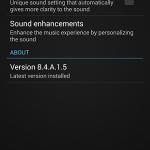 Install Sony Walkman 8.4.A.1.5 updated app