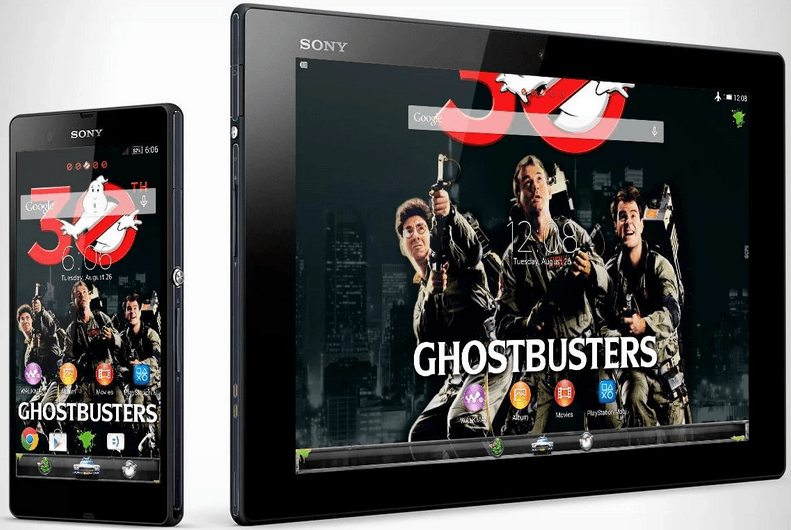 Xperia Ghostbusters theme