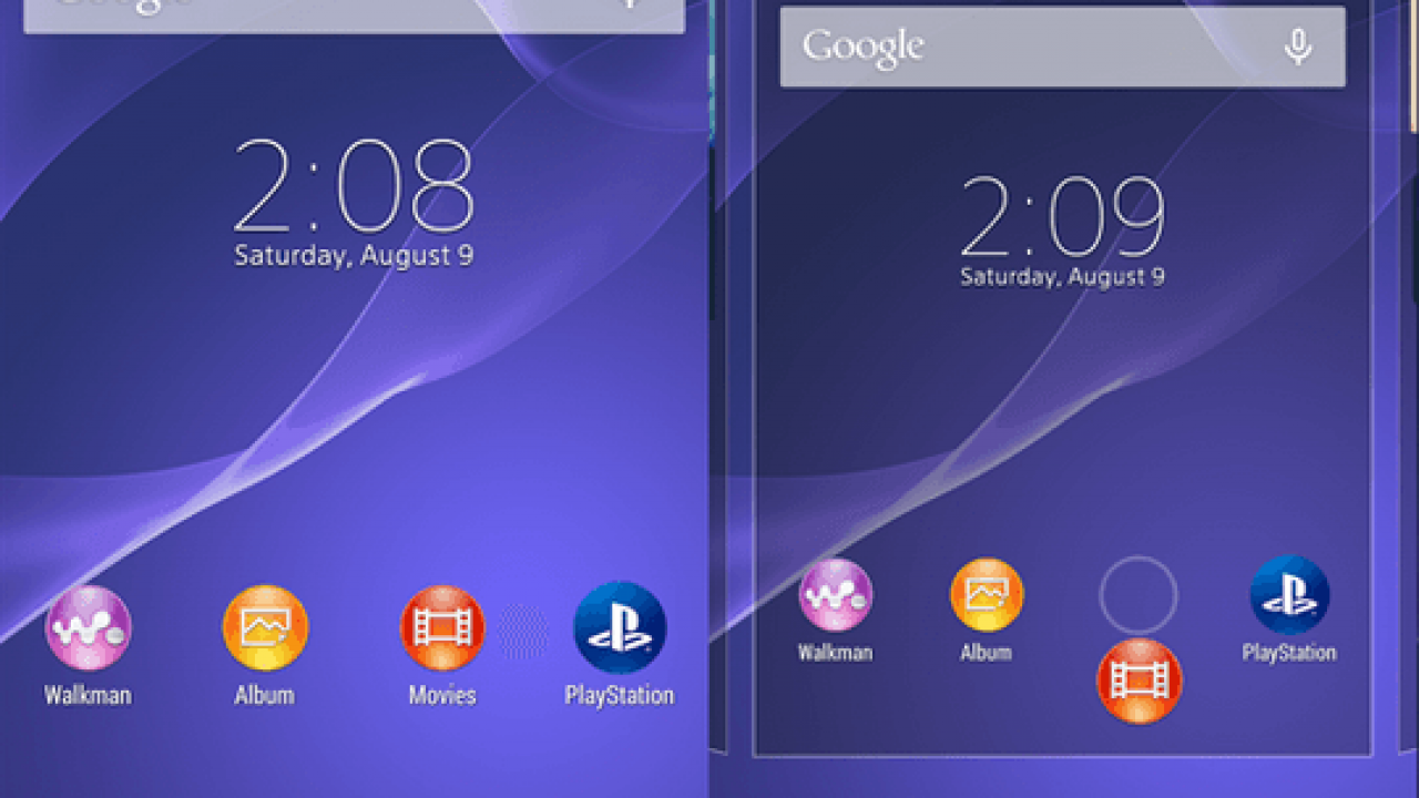 Install Xperia Home 6 3 A 0 7 app on Android 4 4+ device