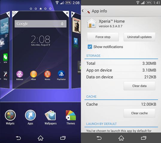 Xperia Home 6.3.A.0.7 app