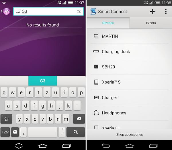 Xperia LG G3 Theme apk