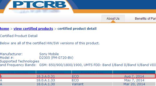 Xperia M2 18.3.A.0.31 firmware D2305