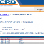 Xperia M2 KitKat 18.3.C.0.37, 18.3.A.0.31, M2 Dual 18.3.B.0.31 firmware certified