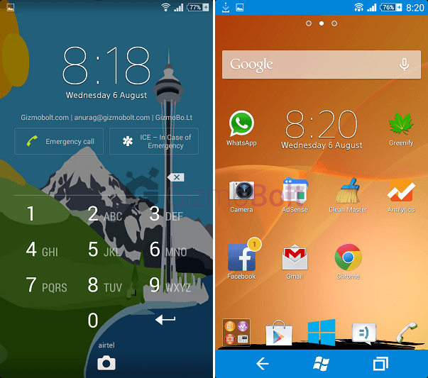 Xperia Windows Theme