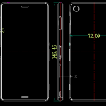 Xperia Z3 to be 7.3mm thin, Z3 Compact Dimensions pics leaked