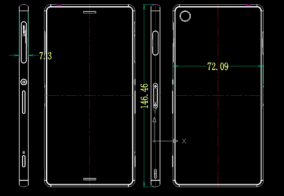 Xperia Z3 7.3mm thin dimensions leaked