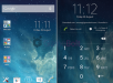 Xperia Day and Night iOS 7 Theme