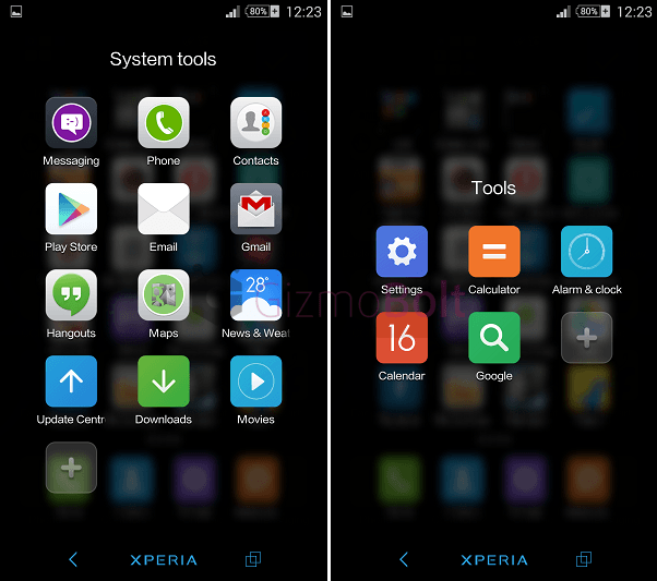 MIUI Express/Lite MIUI 6 Version launcher