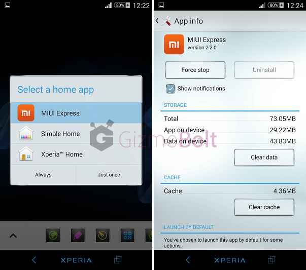 MIUI 6 Express 2.2.0 version apk