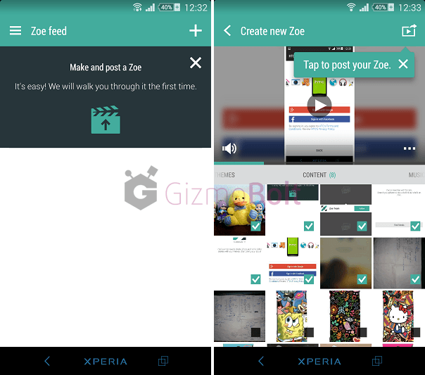 Download HTC Zoe Beta apk for Xperia