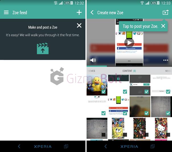 Download HTC Zoe Beta apk for Xperia