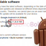 Xperia T2 Ultra Android 4.4.3 19.1.1.A.0.165, 19.1.1.C.0.56 firmware update rolling.