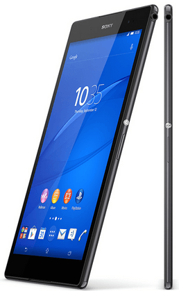 Black Xperia Z3 Tablet Compact