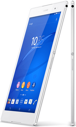 White Xperia Z3 Tablet Compact