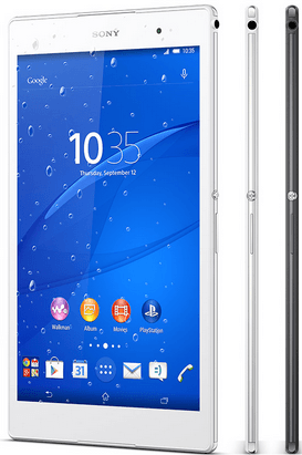 IP65/68 certified Xperia Z3 Tablet Compact