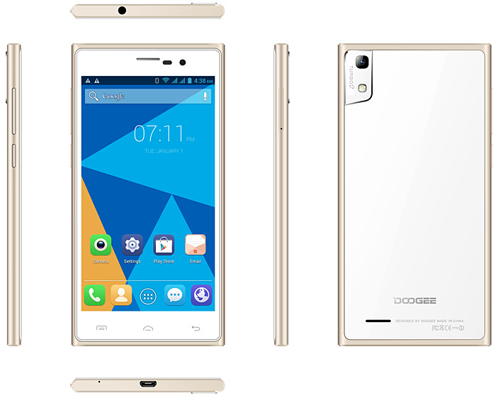 DOOGEE TURBO2 DG900 specifications