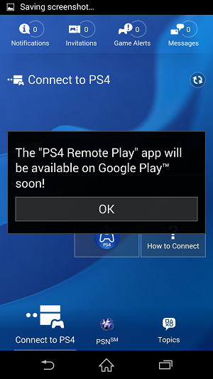 Install Xperia Z3 PS4 Remote Play App