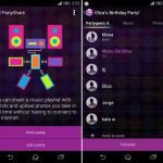Sony Party Share app launched – Turns your device into a jukebox