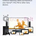 Sony Video Unlimited 13.0.B.0.4 app update rolling