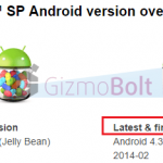 Sony ENDS Xperia C, Xperia SP Android Update support officially