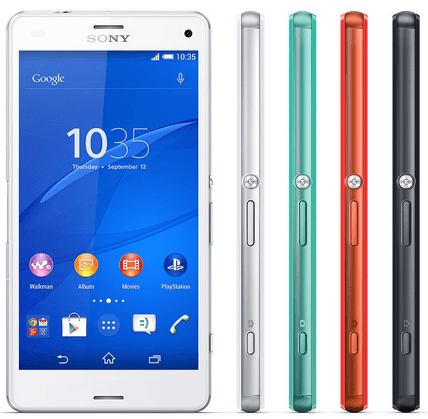 Xperia Z3 Compact White hands on