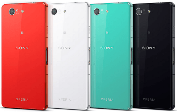 Xperia Z3 Compact colors