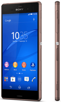 Xperia Z3 Copper Colors