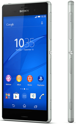 Xperia Z3 Mint color