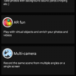 Install Xperia Z3 Multi Camera app, Sound Photo, Touch Block 1.0.A.0.1, Live On YouTube 01.00.16