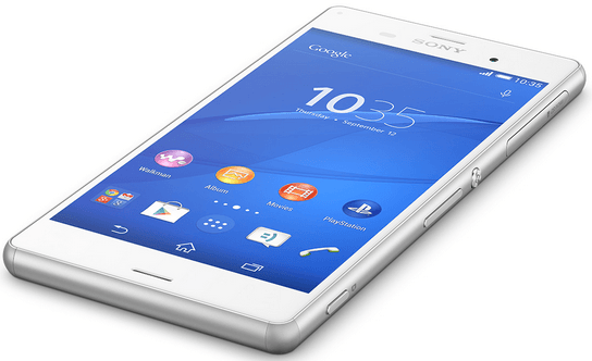 Xperia Z3 White hands on