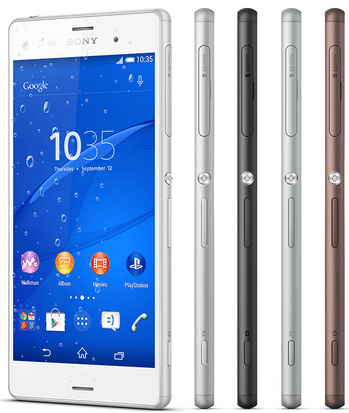 Xperia Z3 White review