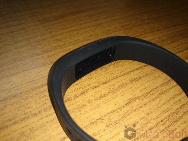 Sony SmartBand SWR10 module area