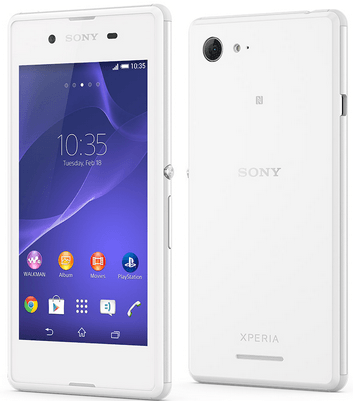 xperia e3 with 4 5 ips display 5 mp rear cam dual sim launched. Black Bedroom Furniture Sets. Home Design Ideas