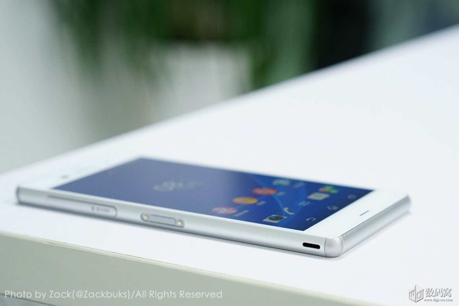 White Xperia Z3 hand on review